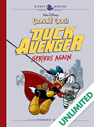 Disney Masters Vol. 8: Donald Duck: Duck Avenger Strikes Again!
